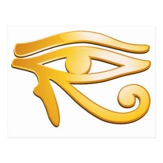 Eye of Horus Cartão Postal