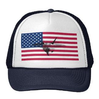 F22A baliza de rap Flag_of_the_United_States Boné
