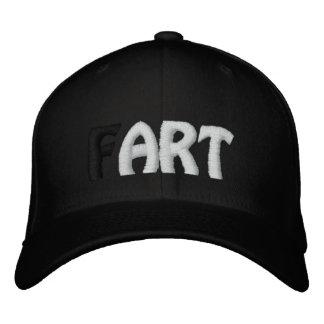 (F) ARTE - chapéu negro Boné Bordado