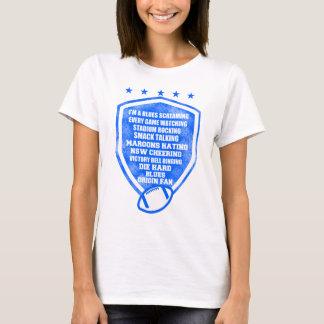 fã da origem dos azuis camiseta