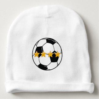 Fã de futebol gorro para bebê