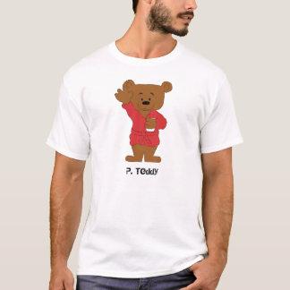 Fã do urso de ursinho P dos desenhos animados Camiseta
