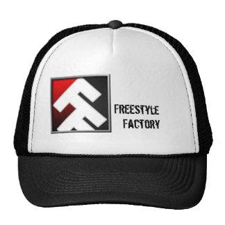 Fábrica FF do estilo livre com o chapéu conhecido  Boné