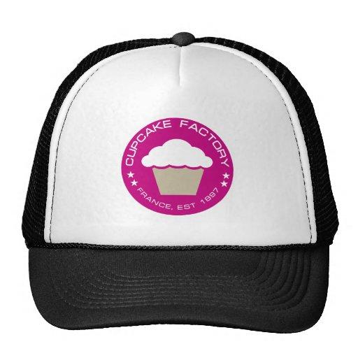 Fábrica france do cupcake boné