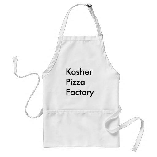 Fábrica Kosher da pizza Aventais