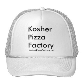 Fábrica Kosher da pizza Boné
