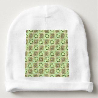 fábrica moderna 04 do teste padrão gorro para bebê