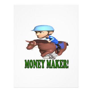 Fabricante de dinheiro panfletos