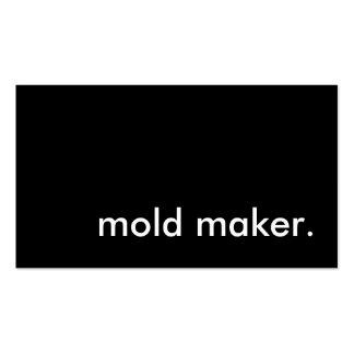 fabricante do molde cartoes de visita