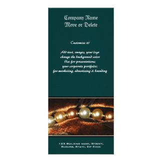 Fabricantes da jóia do perfil do negócio da pérola modelo de panfleto informativo