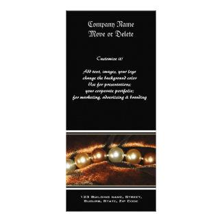 Fabricantes da jóia do perfil do negócio da pérola panfletos informativos personalizados