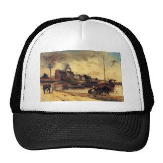 Fábricas de Paul Gauguin- Cail e Quai de Grenelle Bonés