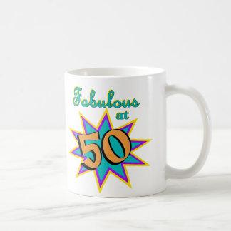 Fabuloso em 50 caneca de café