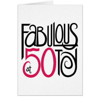 Fabuloso no cartão 50