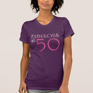 FABULOSO no T de 50 aniversários Camiseta