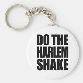 Faça a agitação de Harlem Chaveiro
