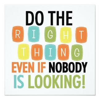 Faça a coisa certa