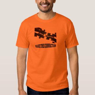 Faça à conexão o t-shirt básico