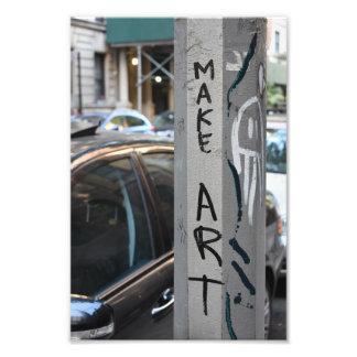 FAÇA a fotografia NYC da rua dos grafites de New