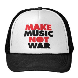 Faça a guerra da música não boné