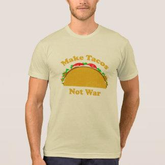 Faça a guerra do Tacos não Camiseta