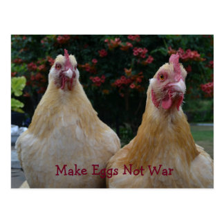 Faça a guerra dos ovos não… Lustre o cartão das