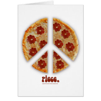 """""""Faça a pizza, cartões não da guerra"""""""
