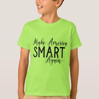Faça a resistência do Anti-Trunfo de América Smart Camiseta