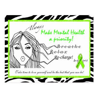 """""""Faça a saúde mental cartão da diva de uma"""