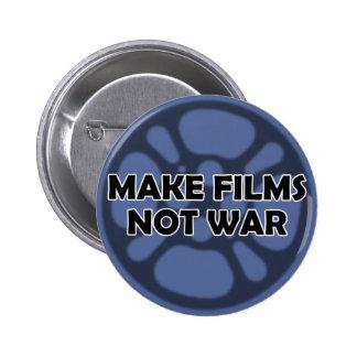 """""""Faça botão não da guerra dos filmes"""" Bóton Redondo 5.08cm"""