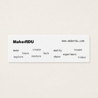 Faça: Cartões telefónicos de RDU