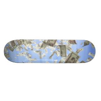 Faça-lhe a placa da chuva shape de skate 21,6cm