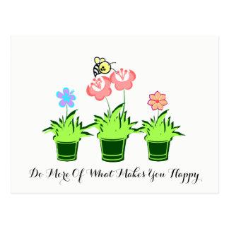 """""""Faça mais do que lhe faz """" o cartão feliz"""
