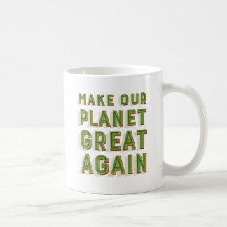 Faça nosso excelente do planeta outra vez. Caneca