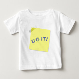 Faça-o! Camiseta Para Bebê