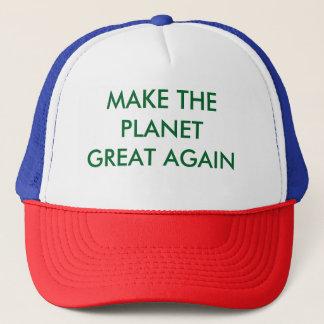 Faça o chapéu do camionista do excelente do boné
