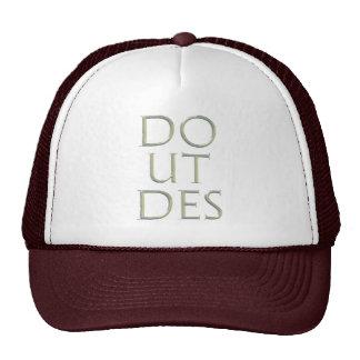 Faça o chapéu do DES de Ut Bonés