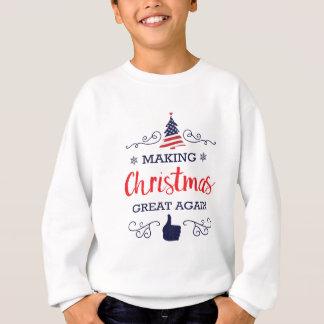 Faça o excelente do Natal outra vez Agasalho