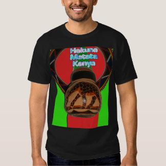 Faça-o o Kenyan personalizar o produto T-shirts