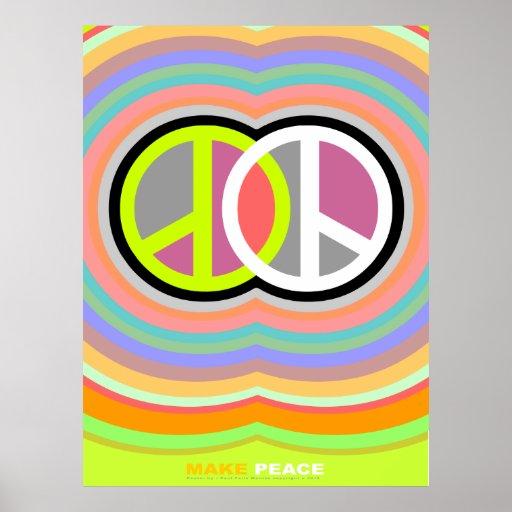 Faça o poster da paz