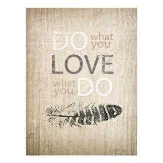 Faça o que você ama a pena de | e inspirado fotografias