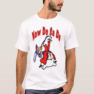 Faça o Sa fazem a dança quadrada Camiseta