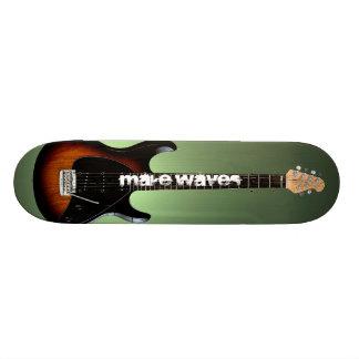 Faça o skate do lançador da guitarra das ondas