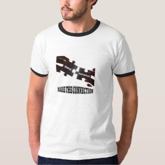 Faça o t-shirt da campainha da conexão