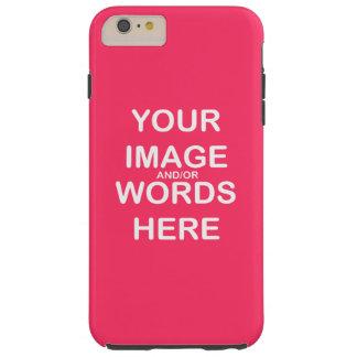 Faça-o você mesmo o ~ iPhone6/6s mais o caso Capas iPhone 6 Plus Tough