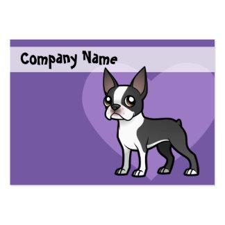 Faça seu próprio animal de estimação dos desenhos cartão de visita grande