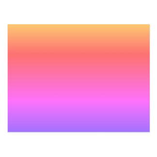 FAÇA SEU PRÓPRIO CARTÃO o arco-íris Pastel