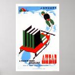 Faça sua neve da leitura WPA 1938 Poster
