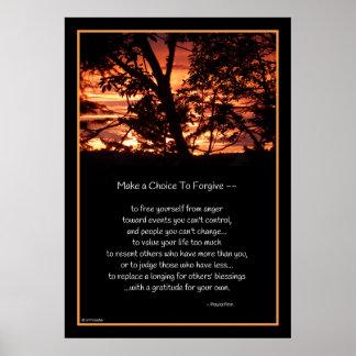 Faça uma escolha para perdoar… o poster