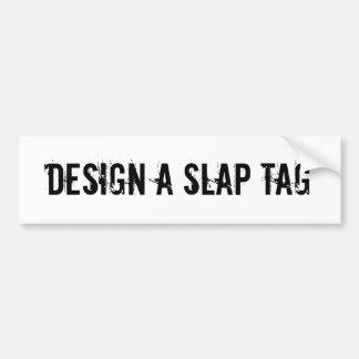 Faça uma etiqueta Graffitti do design do Tag da ba Adesivo Para Carro